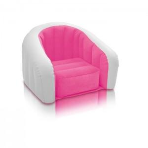 fauteuil-gonflable-intex-cluby-pour-enfant-68597-rose