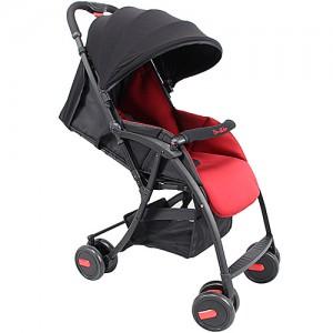Familidoo-poussette-1-place-NC5000-rouge-noir