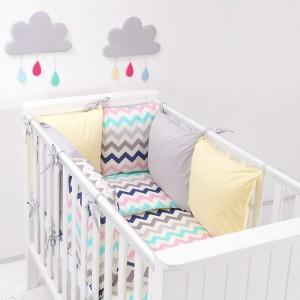 parure-bebe-avec-tour-de-lit-modulable-zigzag-ecru