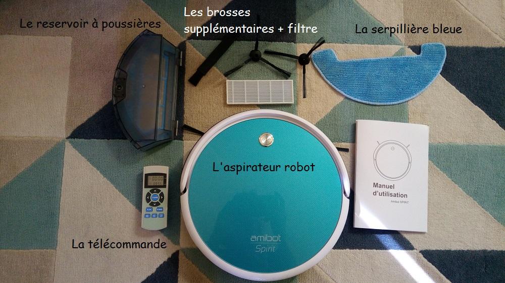 AMIBOT Spirit-Robots Aspirateurs